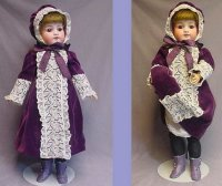 Simon & Halbig Dolls Bisque Head Child Doll. She has her...