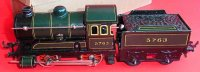 Bing Railway-Locomotives Clockwork-locomotive with tender