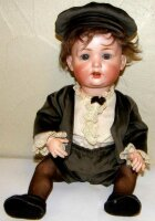 Bahr & Proeschild Dolls Chacracter child doll, it has a...