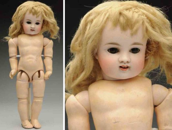 Kestner J. D. Dolls Bisque socket head child doll, head incised ?6? with chubby