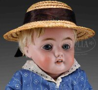 Kestner J. D. Dolls Child doll  with blue glass sleep...
