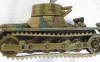 GAMA Military-Vehicles Tank in Mimikri. Tank with axe and...