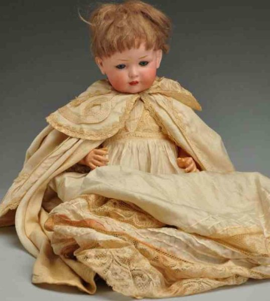 Bahr & Proeschild Dolls Bisque socket head character baby doll, incised with B P cro
