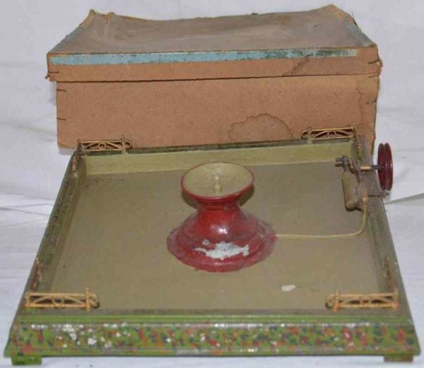 Doll Steam Toys-Drive Models Live steam fountain No. 610/2 with box, with original pain,