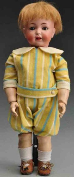 Simon & Halbig Dolls Bisque socket head character doll incised ?616 Simon & Halbi