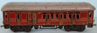 Bing Railway-Passenger Cars Passenger and baggage car...