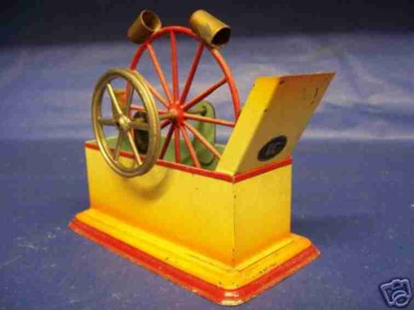 Doll Steam Toys-Drive Models Pump station water No. 622 drive model, wheel diameters 5 an