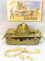 GAMA Military-Vehicles Tank in original box with...