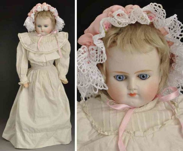 Alt, Beck & Gottschalck Dolls Bisque shoulder head child doll, head incised ?639 # 9?  (fr