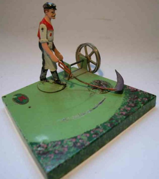 Doll Steam Toys-Drive Models Farmer with scythe No. 642