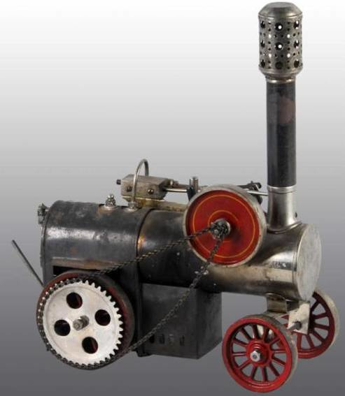 Weeden Steam Engines-Mobile Lokomobile Traction steam engine. This is the larger of the two Weeden
