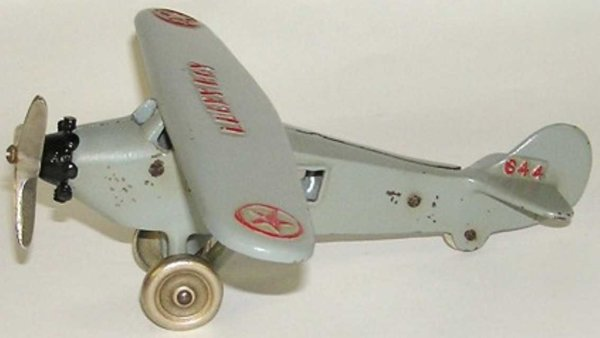 Dent Hardware Co Cast-Iron Airplanes Lucky Boy airplane
