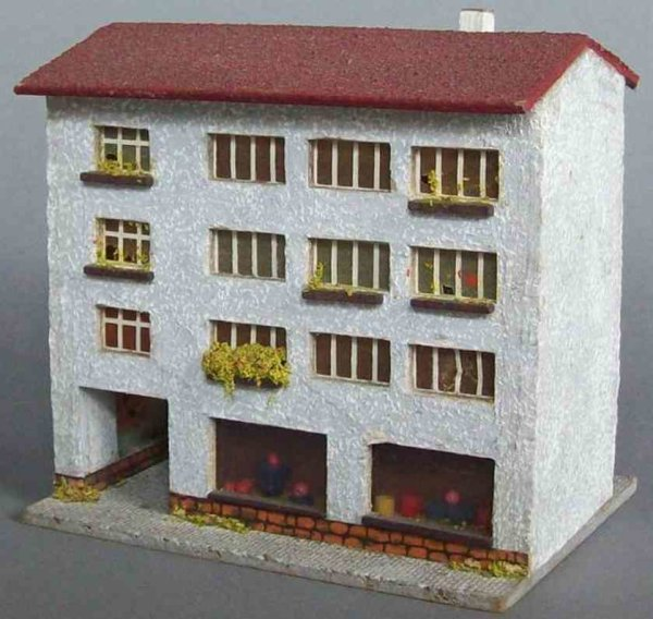 RS Rudof Spitaler Railway-Buildings Large residential block of wood