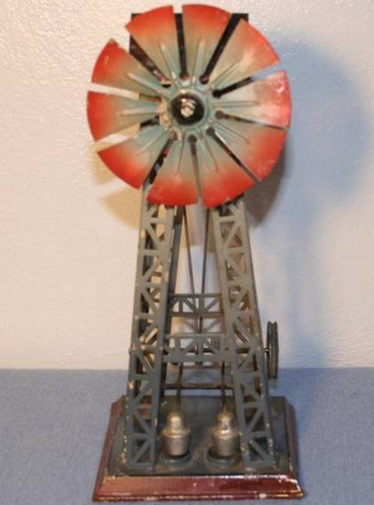 Doll Steam Toys-Drive Models Windmill with two trip hammers