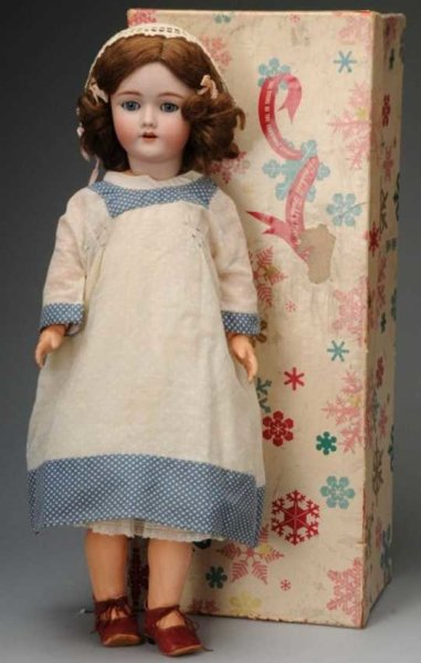 Handwerck Heinrich Dolls Bisque head doll incised with mold number 69-2x Handwerck Ge