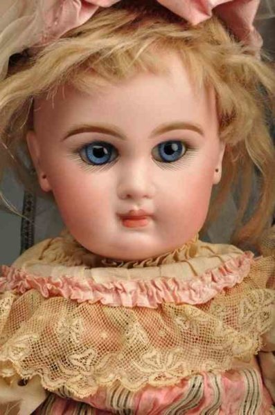 Jumeau Dolls Bebe doll, head is stamped in red ?Tete Jumeau BteSGDG7? on