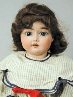 Handwerck Heinrich Dolls Bisque socket head doll, ball...