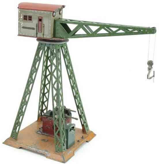 Dorfan Railway-Cranes Electric Crane made of tin and cast metal, 18 volts AC curre