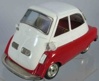 Bandai Tin-Cars BMW Isetta #700 made of tin with friction...