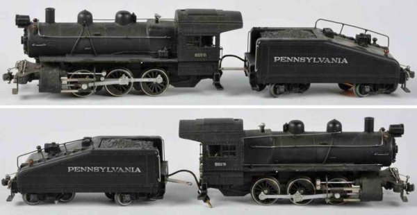 Lionel Railway-Locomotives Full scale B-6 0-6-0 switcher locomotive with tender no. 701