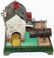Doll Steam Toys-Drive Models Watermill No. 705 with log...