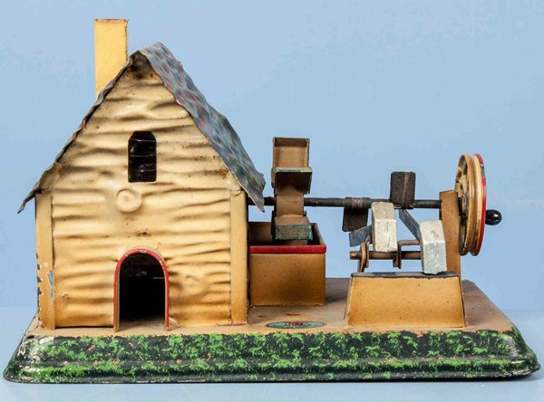 Doll Steam Toys-Drive Models Watermill No. 706, with walkway, first version