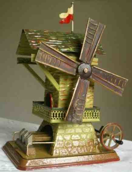Doll Steam Toys-Drive Models Windmill #707 with triple hammer work
