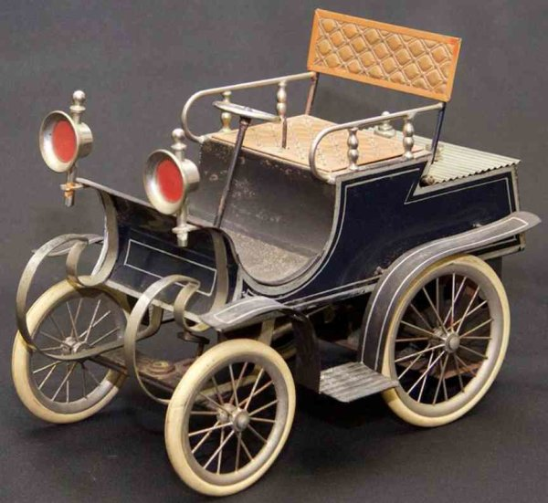 Bing Steam-Vehicles Mobile steam-powered car, twin-spoke wheels with rubber tire