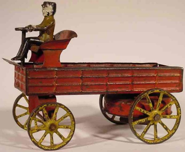 Wilkins Cast-Iron Other-Vehicles Automobile Express, cast iron and pressed steel and wind-up