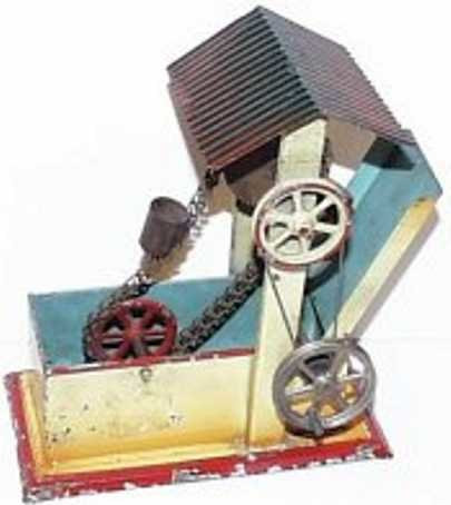 Doll Steam Toys-Drive Models Dredge coated