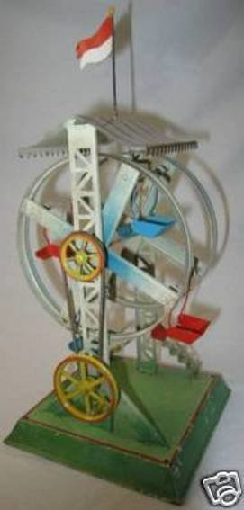 Doll Steam Toys-Drive Models Russian Carousel No. 729/0 coated wheel diameter 5,25