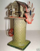 Doll Steam Toys-Drive Models Windmill hand-coated