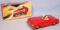 JNF Neuhierl Tin-Cars Mercedes 190SL #75 in red, made of...