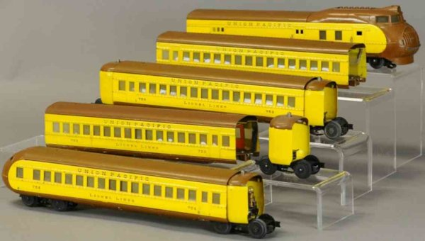 Lionel Railway-Trains Union Pacific City of Portland streamlined articulated diese