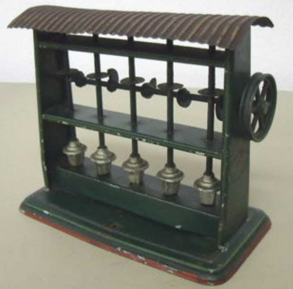 Doll Steam Toys-Drive Models Stamping mill No. 755 5-fold, one turns the driving gear, so