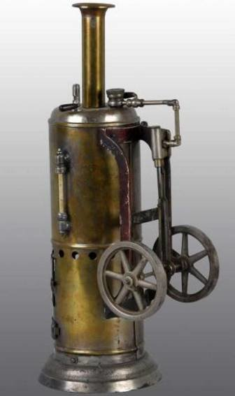Weeden Steam-Toys-Vertical-Steam-Engines Upright steam engine. This is the largest of this series. T