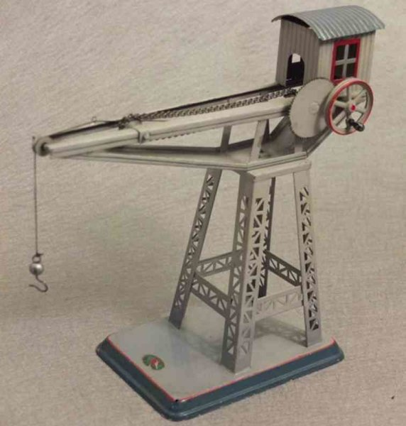 Doll Steam Toys-Drive Models Crane No. 769 is rotatable on the base, by twisting of the d