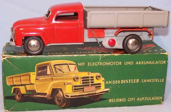 Distler Tin-Trucks Electromatic #7721, realistic with forward, neutral and reve