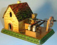 Doll Steam Toys-Drive Models House with hammer work No. 781