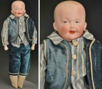 Heubach Gebr. Dolls Bisque shoulder head doll, head...