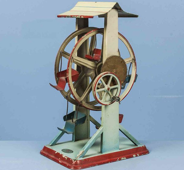 Doll Steam Toys-Drive Models Russian Carousel No. 787 with measure figures in the gondola