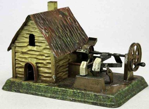 Doll Steam Toys-Drive Models Mill with hammer work No. 788