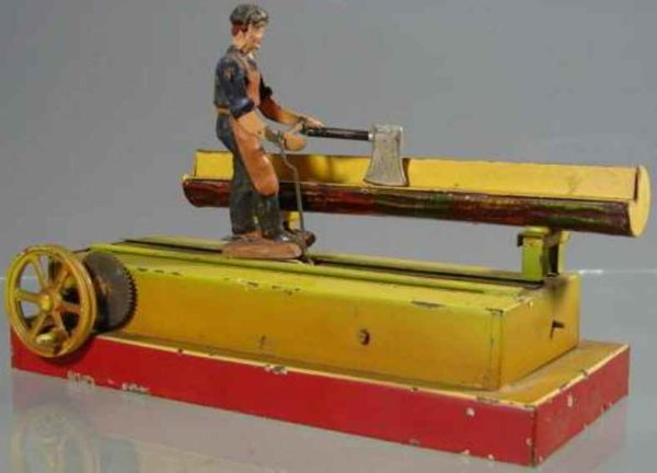Doll Steam Toys-Drive Models Carpenter No. 790 runs  along the tribe and in this case hit