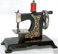Mueller F.W. Toy sewing machines Toy sewing machinge with...