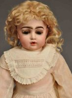 Bru, Jne & Cie Dolls Bisque socket head doll incised Bru...