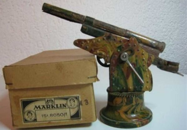 Maerklin Military Toys-Arms Gun #8050/1