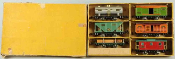 Lionel Railway-Freight Wagons Car assessory set includes six 800 series freight cars. Incl