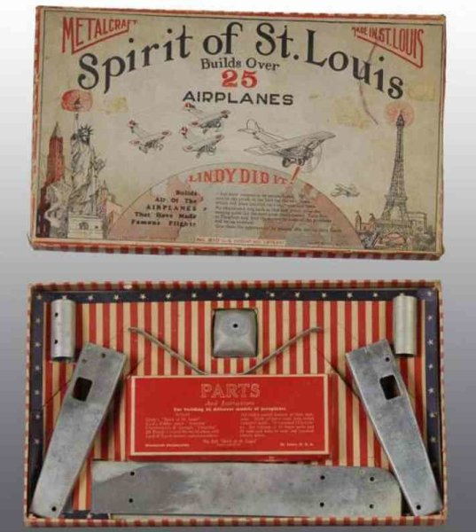 Metalcraft Corp. St Louis Metal Kits Spirit of St. Louis Set. Builds over 25 different airplane m