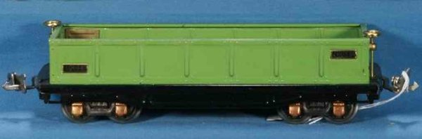 Lionel Railway-Freight Wagons Gondola car # 812.5 with eight wheels in Stephen Girard gree