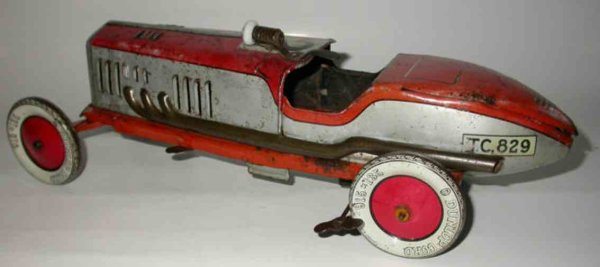 Tippco Tin-Tugs/Rollers Tractor T.C. 829 with clockwork